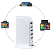 Soundlogic 5 Poorts USB Oplaadtoren