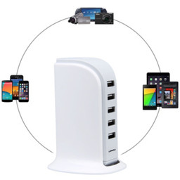 5 Poort USB Oplaadtoren Soundlogic