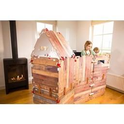 Fantasy Fort (34-dlg.) Bouw je eigen hutten