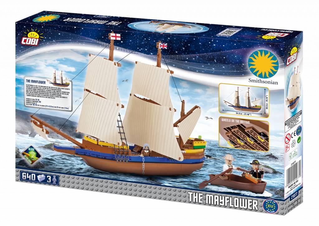 Smithsonian - The Mayflower (21077) Cobi
