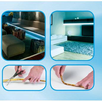 Grundig Flexibele LED-strip Wit (120 LED's, 2m)