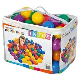 Intex 100 stuks ballenbak ballen (groot 8 cm diameter)