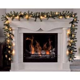 Huismerk Guirlande met 30 LED's en timer-functie (270cm) Warm Wit