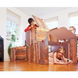 Fantasy Fort hutten bouwpakket (33-delig)