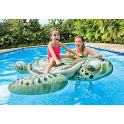 Intex Realistische opblaasbare zeeschildpad (191x170cm)
