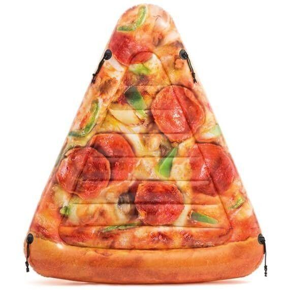 Opblaasbaar Luchtbed - Pizzapunt (175x145cm) Intex