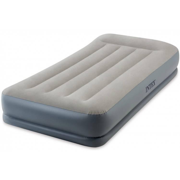 Pillow Rest Zelfopblazend 1-persoons luchtbed (191x99x30cm) Intex
