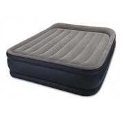 Intex Queen Pillow Rest Deluxe Zelfopblazend 2-persoons luchtbed (203x152x42cm)