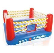 Intex Opbaasbare boksring trampoline Jump-O-Lene (226x226x110cm)