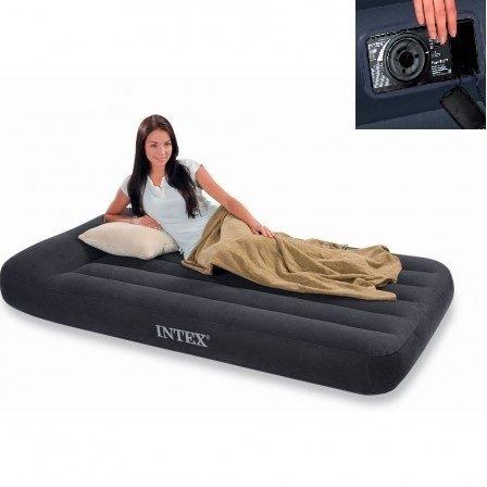 Classic Pillow Rest Zelfopblazend 2-persoons luchtbed Twijfelaar (191x137x23cm) Intex