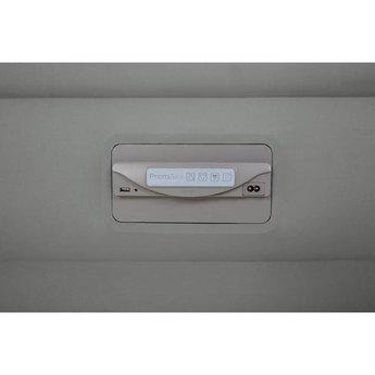 Intex PremAire zelfopblazend twijfelaar luchtbed USB + lamp (191x137x46cm)