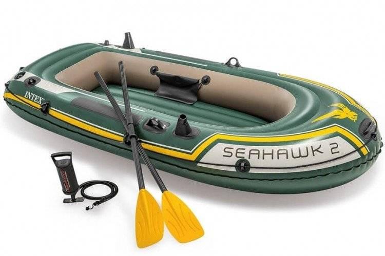 Opblaasbare Raft Boot Set Seahawk 2 Intex