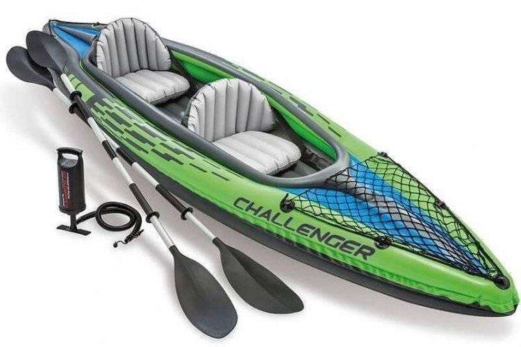Opblaasbare kajak set Challenger K2 Intex