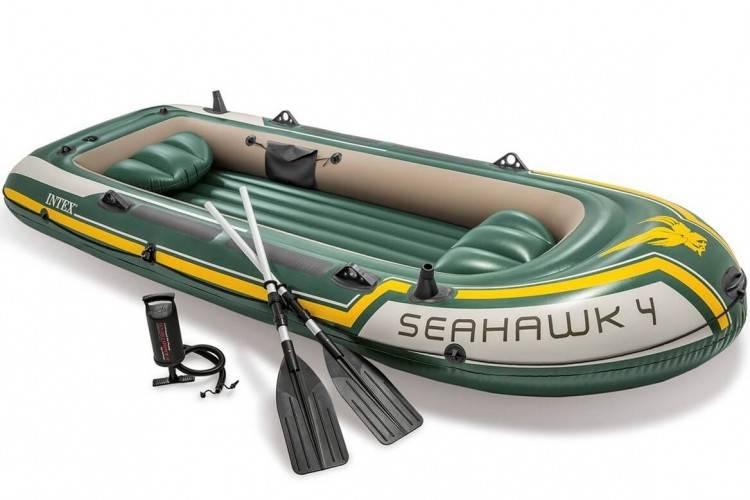 Opblaasbare Boot set Seahawk 4 Intex