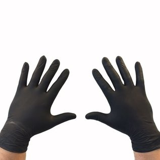 Feather Gloves Soft nitril handschoenen Feather Gloves (zwart - 1000st)