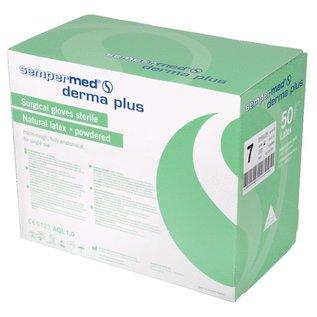 Sempermed Steriele handschoenen gepoederd Sempermed Derma Plus