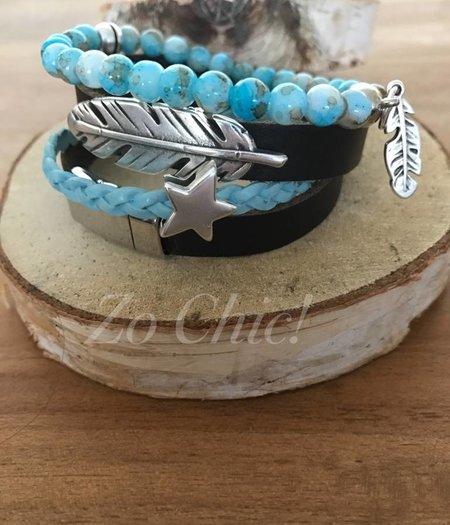 Zo Chic! Armband Caribbean Blue