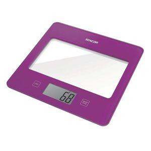 SENCOR SKS 5025VT digitale keukenweegschaal in trendy Violet - Paars