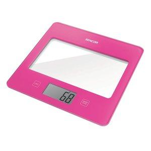 SENCOR SKS 5028RS digitale keukenweegschaal in trendy Roze ( rose )