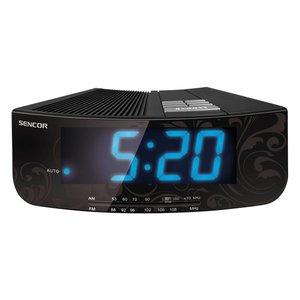 SENCOR SRC 108B Wekker radio - zwart