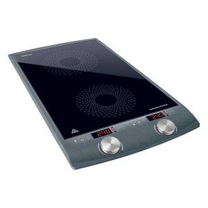 SENCOR SCP 4202GY Inductie kookplaat met twee kookzones