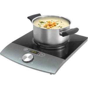 ELECTRO CENTER Inductie kookplaat enkel ( 1 kookzone ) vrijstaand, zwart