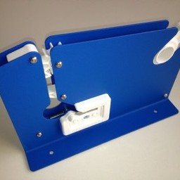 Zakkensluiter metaal met mes 12mm breed