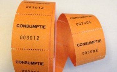 Consumptiebonnen en tickets