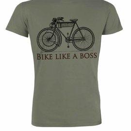 Bike like a boss LIGHT KHAKI