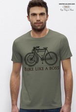 Bike like a boss - LIGHT KHAKI