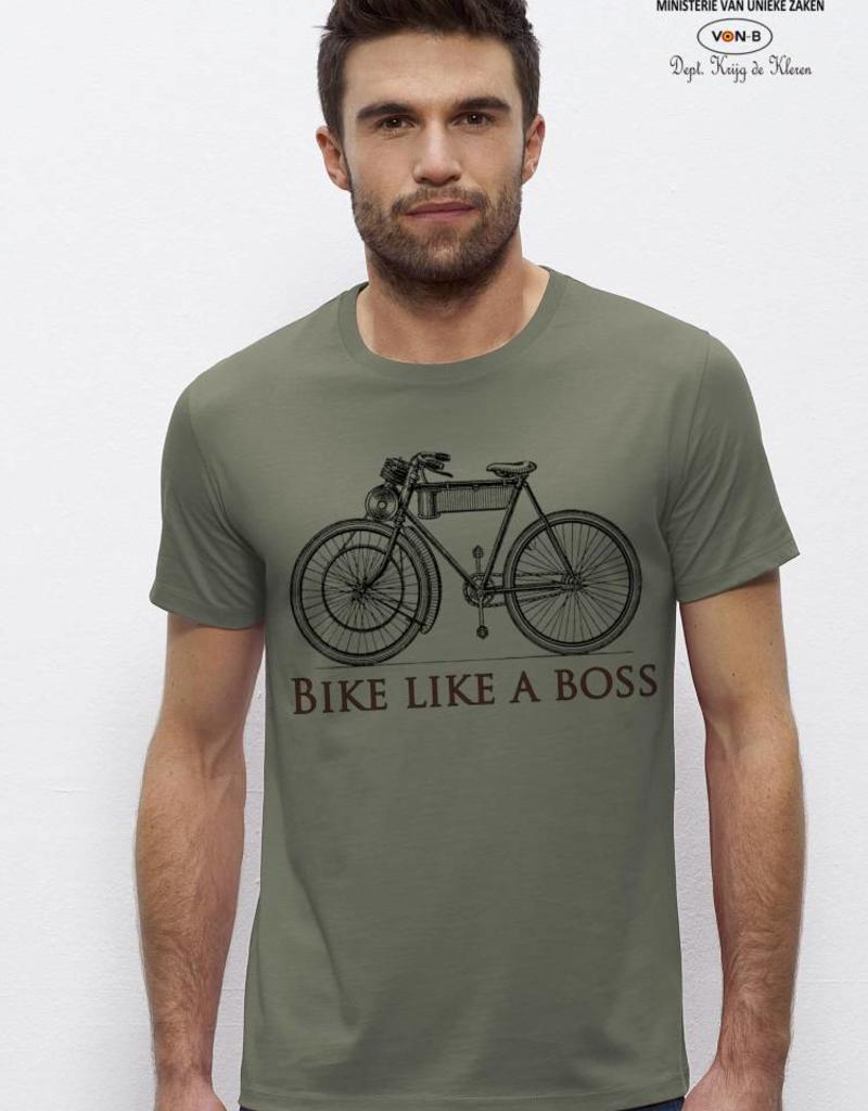 Departement Krijg de Kleren Bike like a boss - LIGHT KHAKI