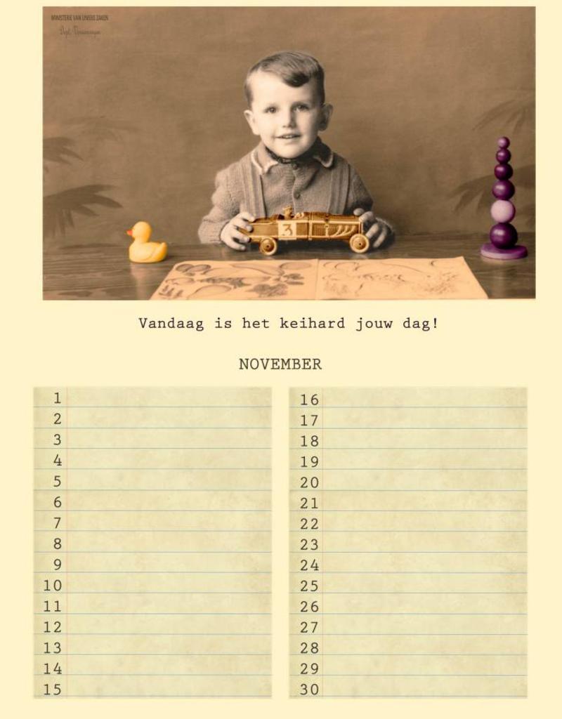 Verjaardagskalender (vernieuwde versie )