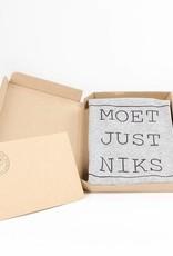 Departement Krijg de Kleren Moet Just Niks - t-shirt grijs