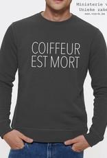 Departement Krijg de Kleren Coiffeur Est Mort Sweater Man
