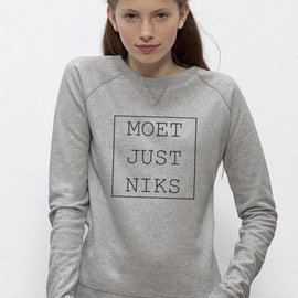 Departement Krijg de Kleren Moet Just Niks Sweater (V)