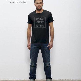 Departement Krijg de Kleren Moet Just Niks T-shirt Man
