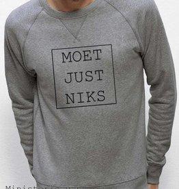 Departement Krijg de Kleren Moet Just Niks Sweater (M)