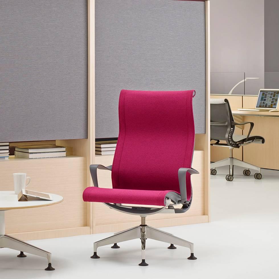 herman miller herman miller setu lounge chair workbrands