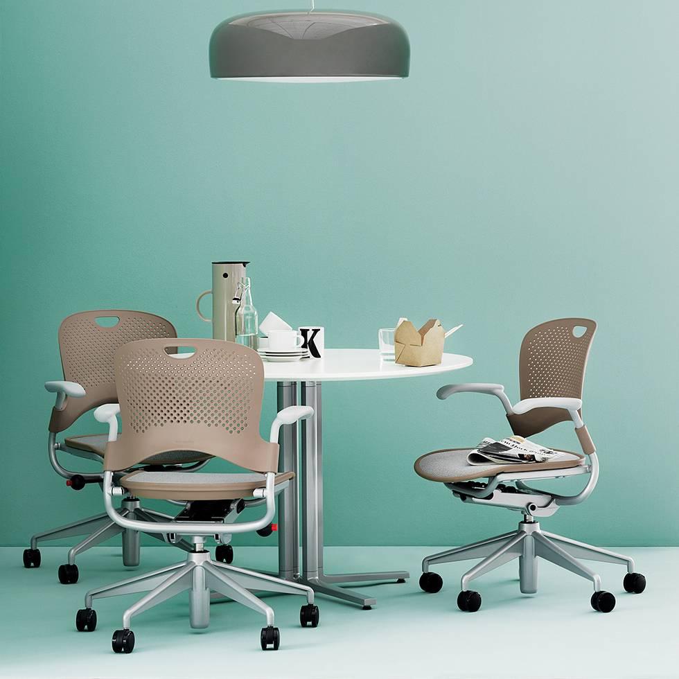 Herman miller caper multifunctionele stoel workbrands for Herman miller stoel