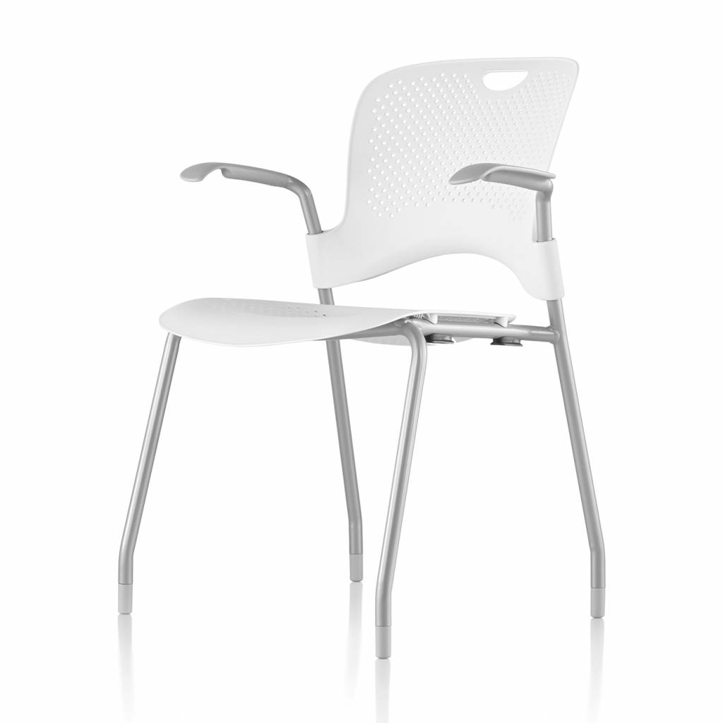 herman miller caper stacking chair with arms. herman miller caper | stacking chair image may differ from actual product see all images with arms c