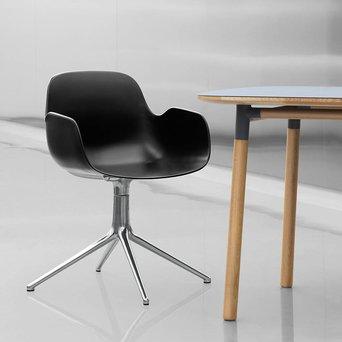 Normann Copenhagen Normann Copenhagen Form Armchair | Draaibaar | Volledig bekleed