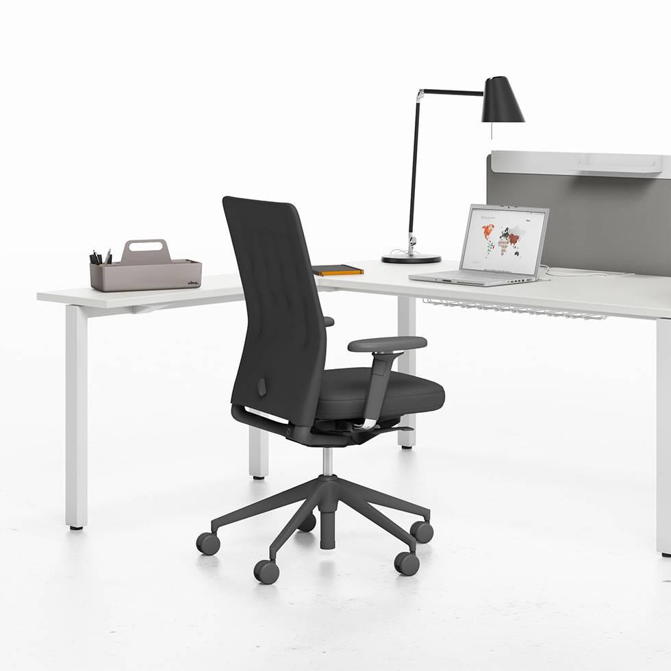 vitra vitra workit extension table single desk workbrands. Black Bedroom Furniture Sets. Home Design Ideas