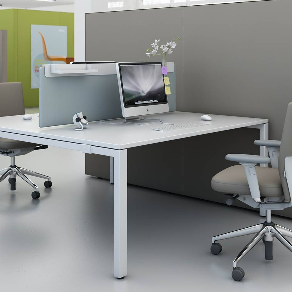 Vitra Workit Extension Table Duo Bench