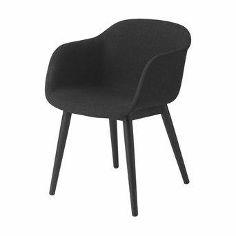 Muuto Muuto Fiber Armchair | Wood base | Völlig bezogen