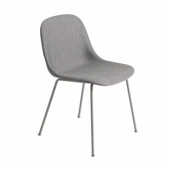 Muuto Muuto Fiber Side Chair | 4 poots | Staal | Volledig bekleed