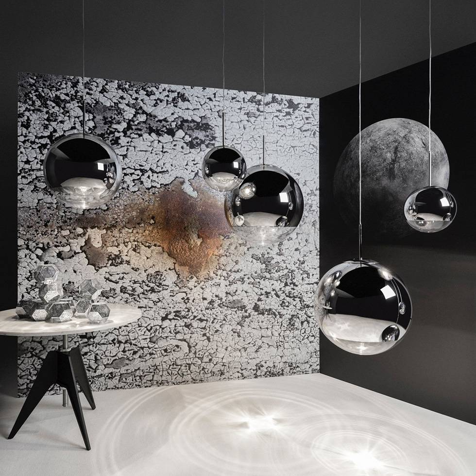 tom dixon tom dixon mirror ball pendant light workbrands. Black Bedroom Furniture Sets. Home Design Ideas