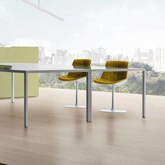 MDF Italia MDF Italia Flow Chair | Padded | Trompetenfuß