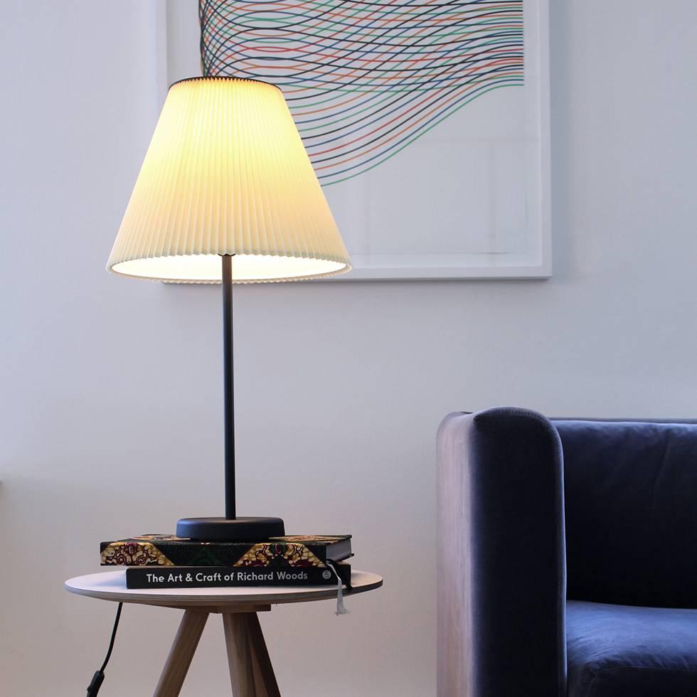 HAY Cast Accordion Shade | Table Lamp