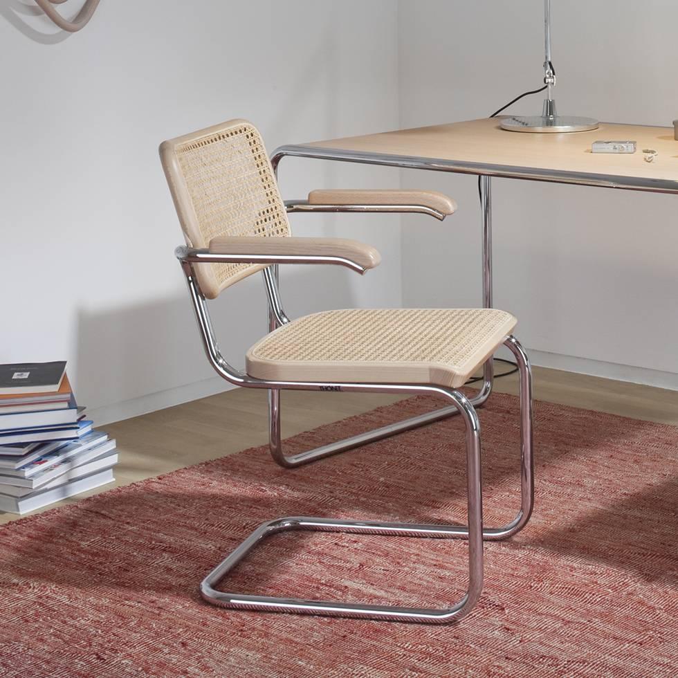 thonet thonet s 64 v pure materials workbrands. Black Bedroom Furniture Sets. Home Design Ideas