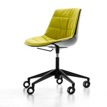 MDF Italia MDF Italia Flow Chair | Padded | Bureaustoel